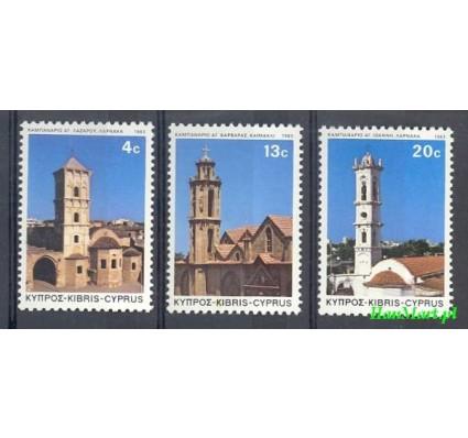 Znaczek Cypr  1983 Mi 605-607 Czyste **