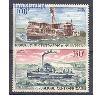 Znaczek Republika Środkowoafrykańska 1968 Mi 179-180 Czyste **