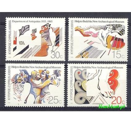 Cypr  1986 Mi 651-654 Czyste **