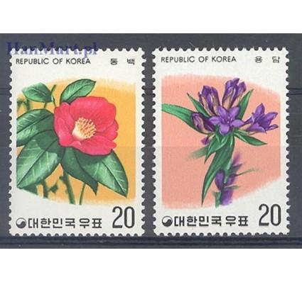 Znaczek Korea Południowa 1975 Mi 1016-1017 Czyste **