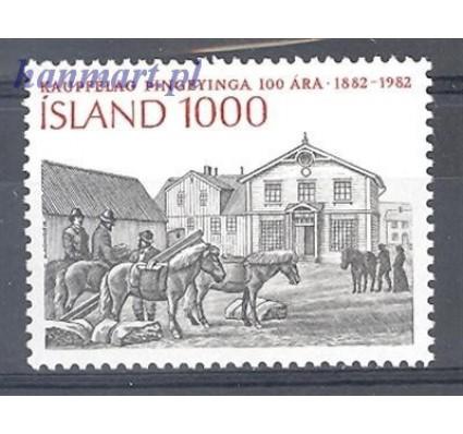 Znaczek Islandia 1982 Mi 583 Czyste **