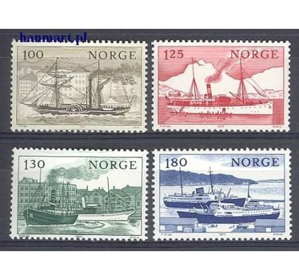Znaczek Norwegia 1977 Mi 747-750 Czyste **