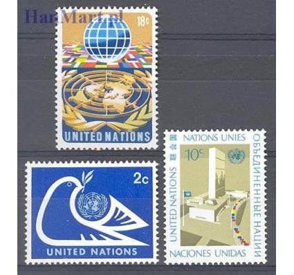 Znaczek Narody Zjednoczone Nowy Jork 1974 Mi 269-271 Czyste **