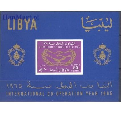 Libia 1965 Mi bl 9B Czyste **