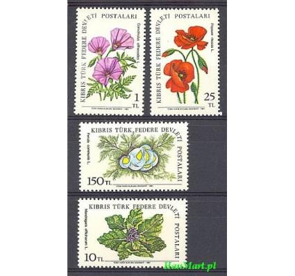 Znaczek Cypr Północny 1981 Mi 101-104 Czyste **