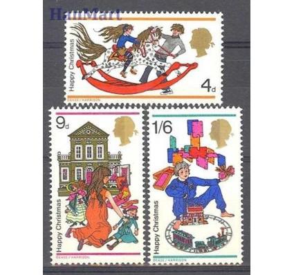 Znaczek Wielka Brytania 1968 Mi 493-495 Czyste **