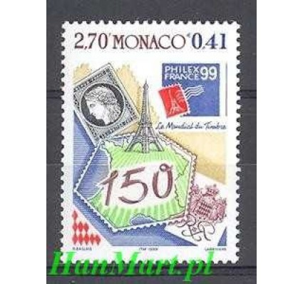 Monako 1999 Mi 2458 Czyste **