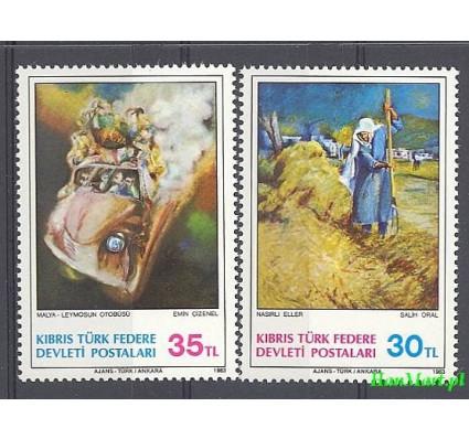 Cypr Północny 1983 Mi 125-126 Czyste **
