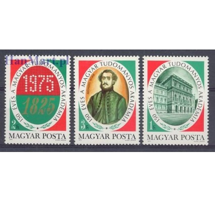 Znaczek Węgry 1975 Mi 3039-3041 Czyste **