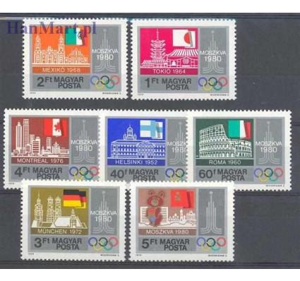 Znaczek Węgry 1979 Mi 3355-3361 Czyste **