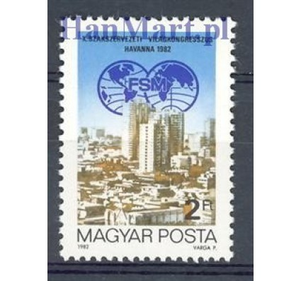 Węgry 1982 Mi 3534 Czyste **