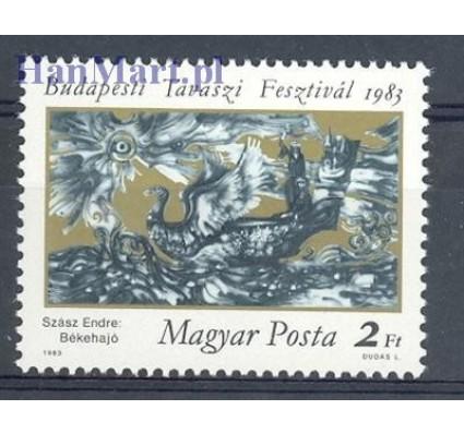 Znaczek Węgry 1983 Mi 3597 Czyste **