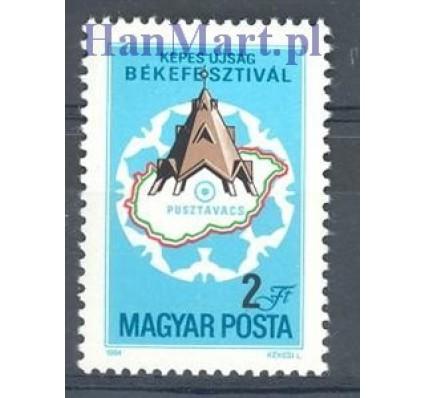 Znaczek Węgry 1984 Mi 3690 Czyste **