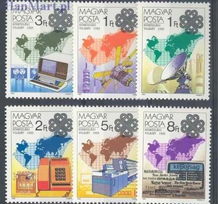 Węgry 1983 Mi 3636-3641 Czyste **