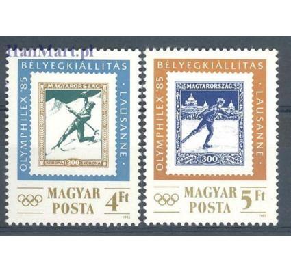 Węgry 1985 Mi 3743-3744 Czyste **