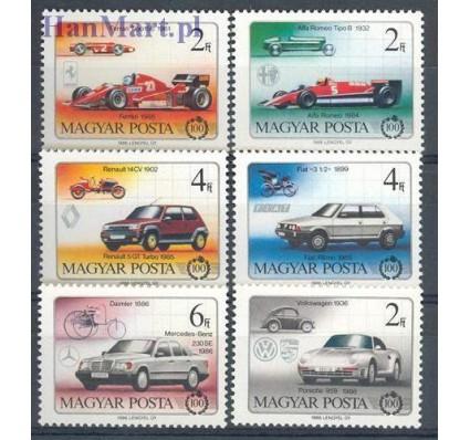 Znaczek Węgry 1986 Mi 3828-3833 Czyste **