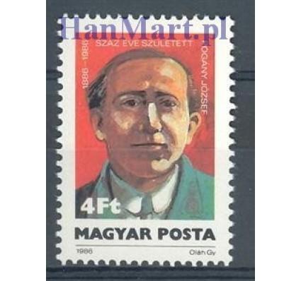 Znaczek Węgry 1986 Mi 3845 Czyste **