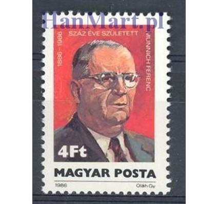 Znaczek Węgry 1986 Mi 3846 Czyste **