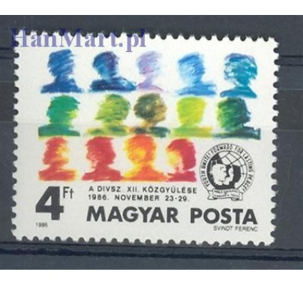 Znaczek Węgry 1986 Mi 3847 Czyste **