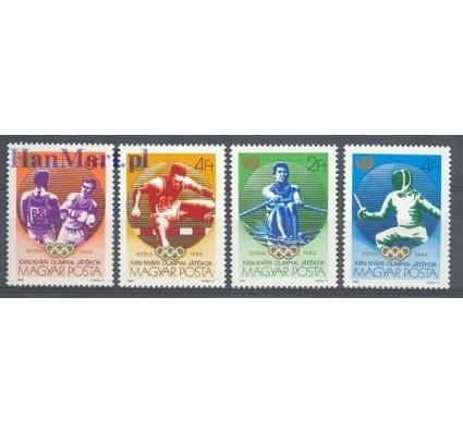 Węgry 1988 Mi 3959-3962 Czyste **