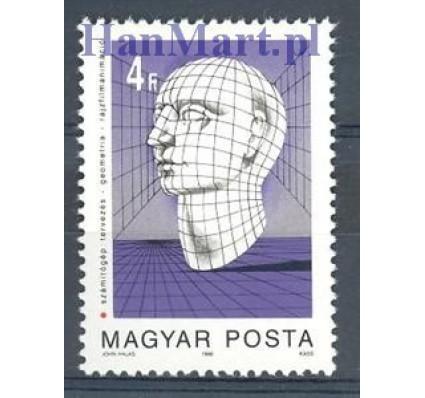 Znaczek Węgry 1988 Mi 3964 Czyste **