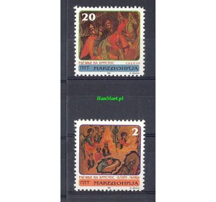 Znaczek Macedonia 1993 Mi 18-19 Czyste **