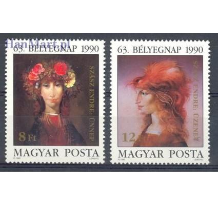 Węgry 1990 Mi 4107-4108 Czyste **