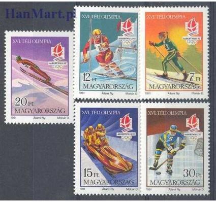 Znaczek Węgry 1991 Mi 4175-4179 Czyste **