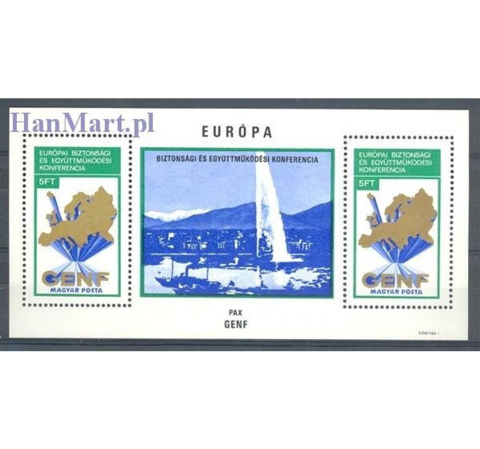 Węgry 1974 Mi bl 103 Czyste **
