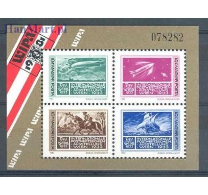 Znaczek Węgry 1981 Mi bl 150 Czyste **