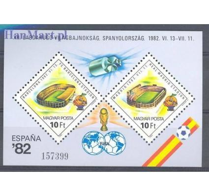 Znaczek Węgry 1982 Mi bl 155 Czyste **