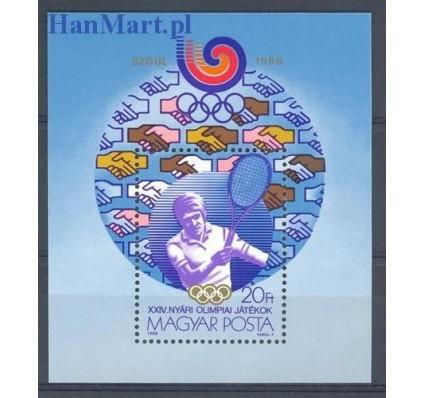 Znaczek Węgry 1988 Mi bl 198 Czyste **