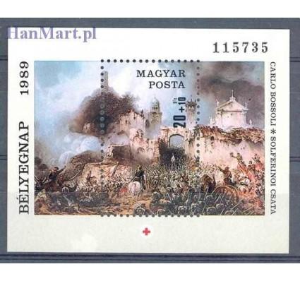 Znaczek Węgry 1989 Mi bl 205 Czyste **