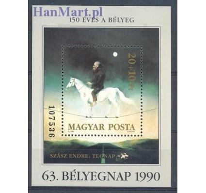 Znaczek Węgry 1990 Mi bl 212 Czyste **