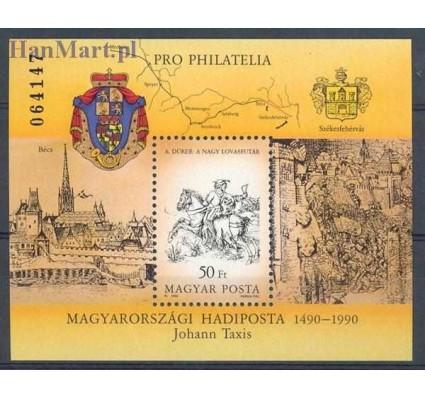 Znaczek Węgry 1990 Mi bl 213 Czyste **