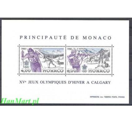 Monako 1988 Mi bl 38 Czyste **