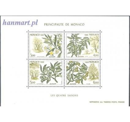 Monako 1988 Mi bl 41 Czyste **