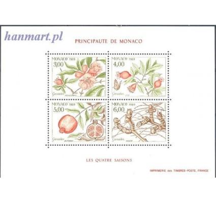Monako 1989 Mi bl 42 Czyste **