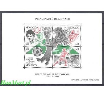 Monako 1990 Mi bl 48 Czyste **