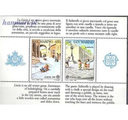 San Marino 1989 Mi bl 12 Czyste **
