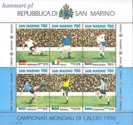 San Marino 1990 Mi bl 13 Czyste **