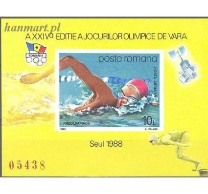 Znaczek Rumunia 1988 Mi bl 243 Czyste **