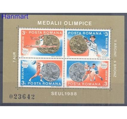 Rumunia 1988 Mi bl 250 Czyste **