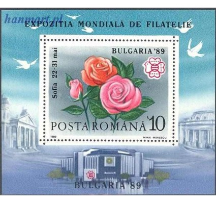 Rumunia 1989 Mi bl 253 Czyste **