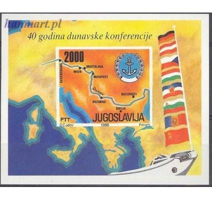 Jugosławia 1988 Mi bl 33 Czyste **