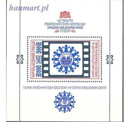Bułgaria 1988 Mi bl 177 Czyste **