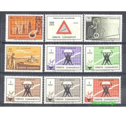 Znaczek Turcja 1969 Mi 2126-2134 Czyste **
