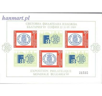 Znaczek Bułgaria 1989 Mi bl 184 Czyste **