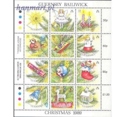 Guernsey 1989 Mi ark 470-481 Czyste **