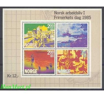Norwegia 1985 Mi bl 5 Czyste **